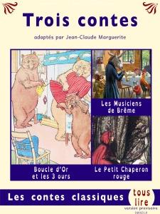"""Couverture du recueil """"Trois contes"""""""