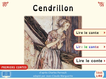 Cendrillon premier titre de la collection PREMIERS CONTES