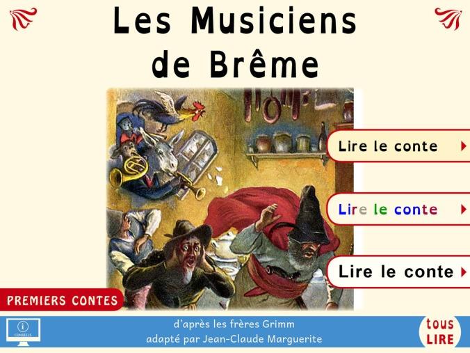 Les_Musiciens_de_Breme_PREMIERS CONTES_couverture_mini