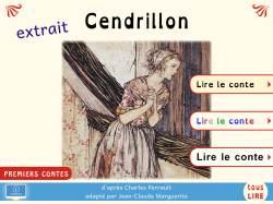 Extrait gratuit de Cendrillon (collection Premiers contes, version PDF interactif)
