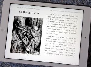 barbe-bleu sur iPad2